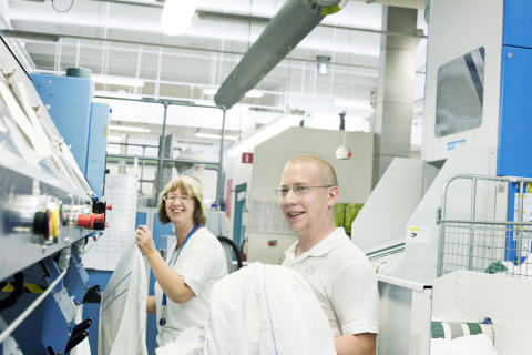 Positivt tilldelningsbesked för Textilia i Boden - Jobben på tvätteriet räddas