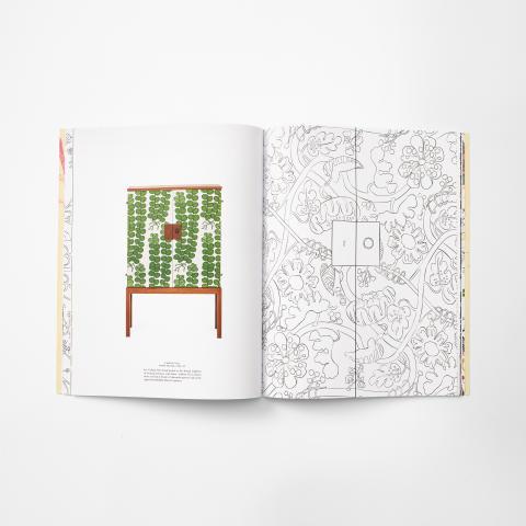 Thames & Hudson lanserar målarbok om Svenskt Tenn.