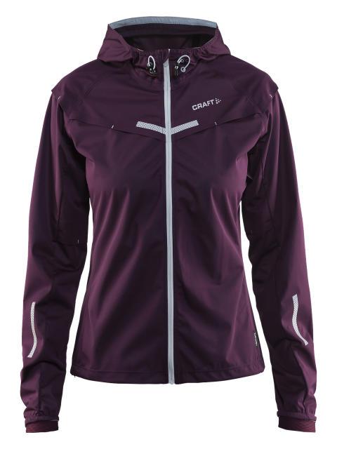 Weather jacket för dam, skyddar mot vinterns yttre element