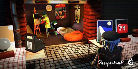 Svenskutvecklade Passpartout släpps på Steam och Gamejolt