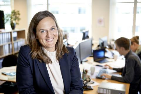 Kvindelig IT-topleder fejrer 10 års jubilæum