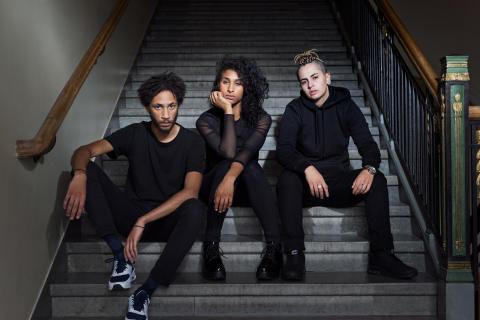 Om ungas dödskjutningar i Klipp han – med Unga Dramaten och Teater Fryshuset
