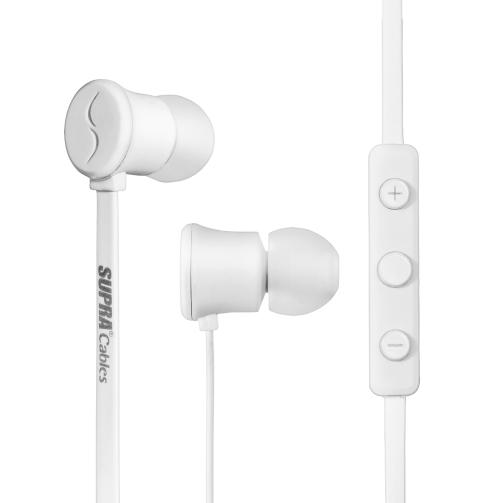 SUPRA NERO in-ear white