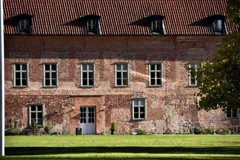 Bäckaskogs slott och kungsgård, gavel