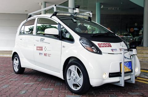 Singapore's self-driving car makes Google's version an unnecessary luxury