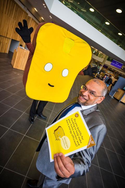 Residents to slash bills as Mr Toast pops up in Rochdale