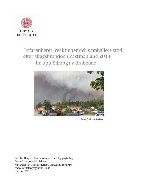 RAPPORT Branden i Västmanland