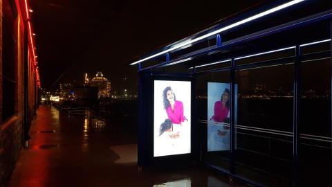 Teleste nattbild City 90 med digitalskärm Fotografiska, Connected zone