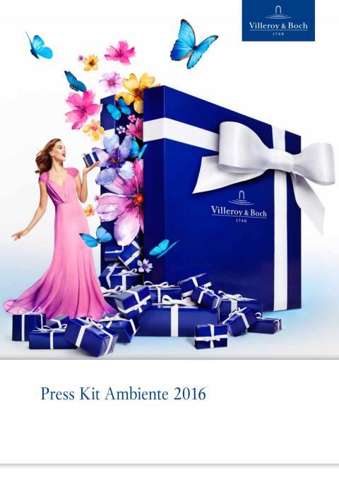 Press Kit Ambiente 2016