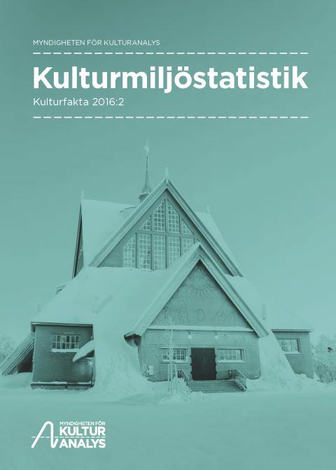 Kulturmiljöstatistik publiceras för första gången på 20 år