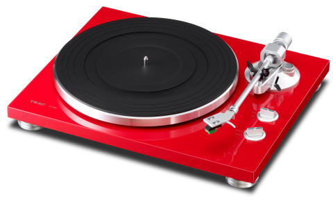TEAC TN-300R - Röd