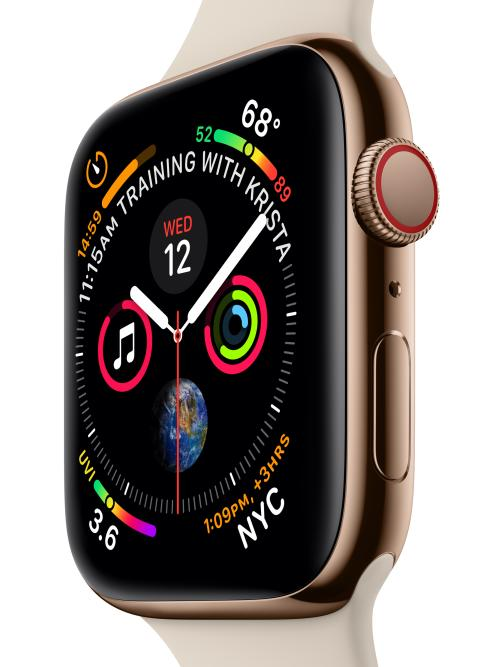 iPhone XS, iPhone XS Max och Apple Watch Series 4 (GPS+Cellular) börjar säljas den 14 september