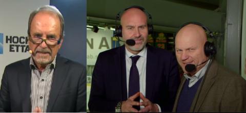 STORT INTRESSE FÖR PREMIÄRMATCHEN i Sveriges senaste hockeykanal!