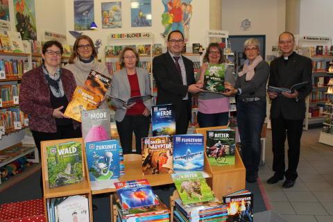 Neue Bücher für das Büchereisystem Korschenbroich