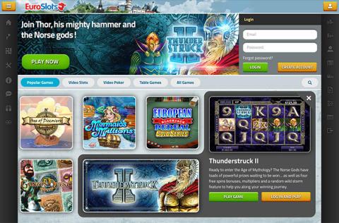 EuroSlots lanserar unikt Tablet Casino