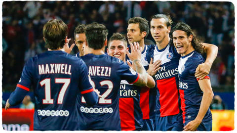 PSG; Paris Saint-Germain - ambassadör i I Feel Good