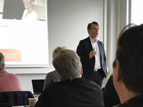 Stort intresse för CleanPilot på seminarium