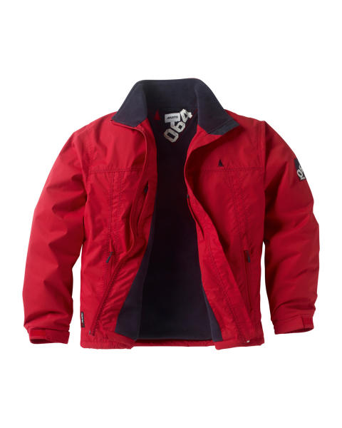Musto Shore Jacket Red