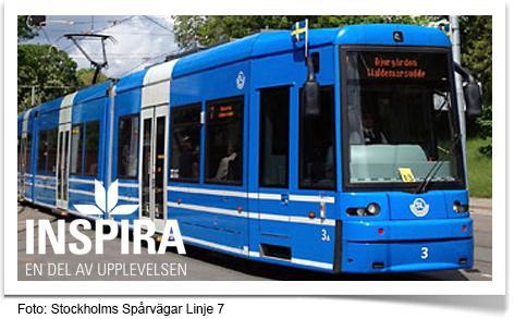 Inspira i partnerskap med Stockholms Spårvägar