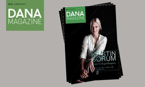 First mover Magazine bliver til DANA MAGAZINE