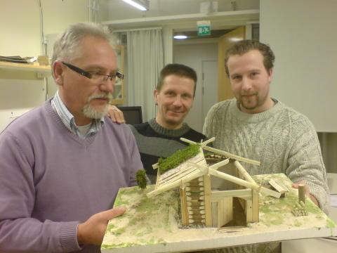 Pressmeddelande: Stockholms universitet rekonstruerar grophus i Väsby