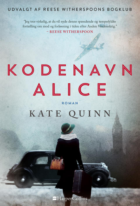 Udkommer  i dag:  KODENAVN ALICE af Kate Quinn