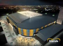 Solna rustat för invigningen av Friends Arena