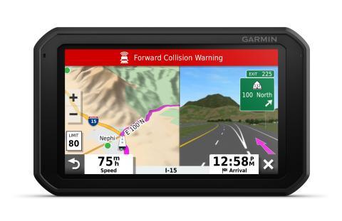 Garmin® Camper 785 med innebygd dashbordkamera