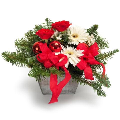 EuroFlorists jularrangemang till förmån för Röda Korset