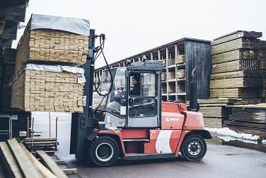 Fortsatt nedgång i december för Byggmaterialhandeln i Stockholm.