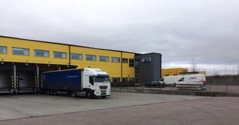 Jetpak öppnade Malmö Sturup flygplats för flygtransporter den 1 mars 2017