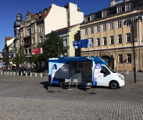 Beratungsmobil der Unabhängigen Patientenberatung kommt am 14. November nach Eisenach.