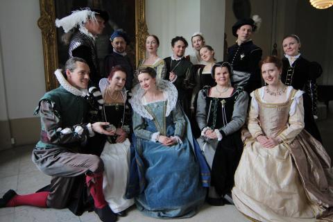 Årets mest historiska bal på Slottet