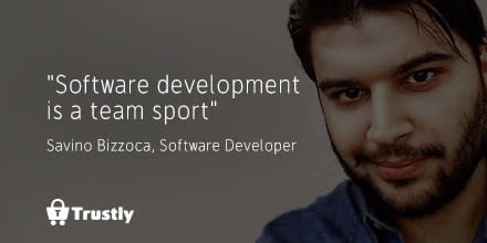 I've learnt that software development is a team sport