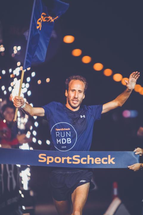Sieger Frank Schauer war 2013 Deutscher Meister im Marathon