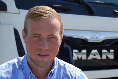 Jakob Wolther (27)  - Ny salgskonsulent hos MAN