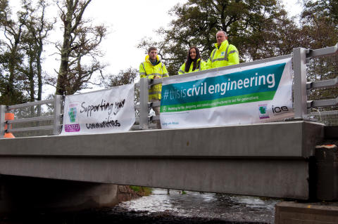 Work completed on Speyside bridge project