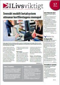 Svenskt mobilt betalsystem  utmanar kortföretagens monopol