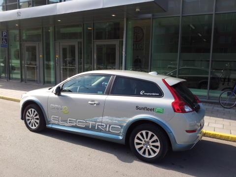 Bilpool en viktig fråga för framtiden. Möt Sunfleet i Almedalen.