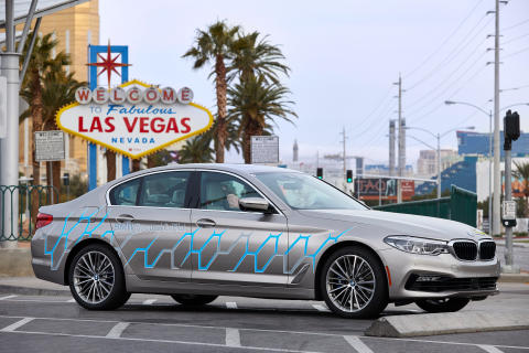 BMW på Consumer Electronics Show (CES) 2017 i Las Vegas