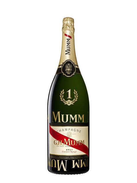 G.H.MUMM avduket sin nye F1 Champagne under Monaco Grand Prix