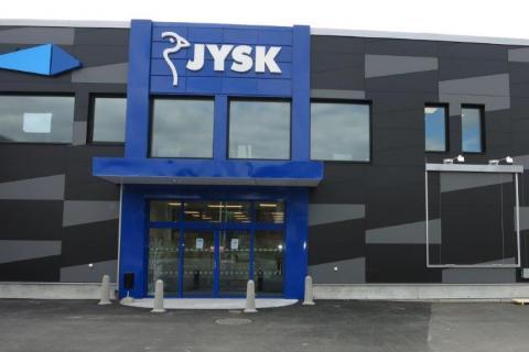 JYSK i Sölvesborg. Foto: EcoSign Skyltar i Sverige AB