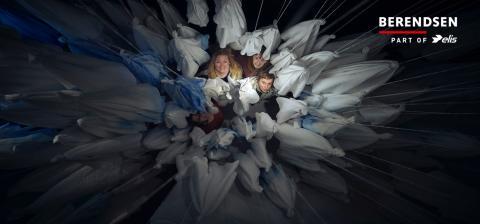 Berendsens kasserede duge får et nyt og kreativt liv i sART Danseteaters premiere-forestilling