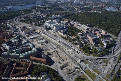 Christian Berner Tech Trade AB (publ) levererar vibrationsdämpning till projektet Hagastaden i Stockholm