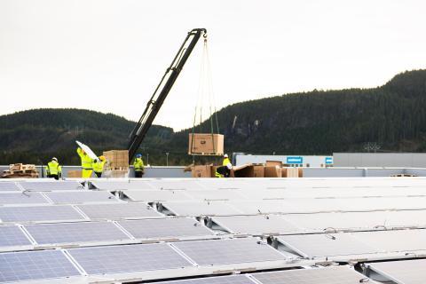 Posten Torgård solcelleanlegg