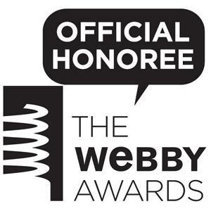 """Tailor Store fick hedersutmärkelse som """"official honoree"""" inför den 12:e  årliga Webby Awards utdelningen"""