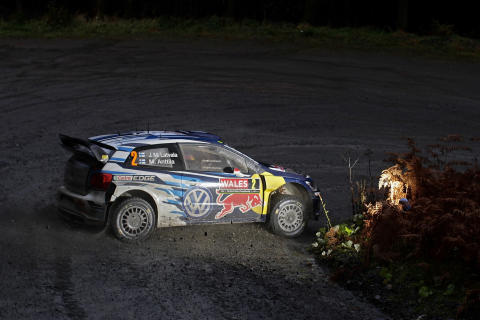 Jari-Matti Latvala Rally Great Britain