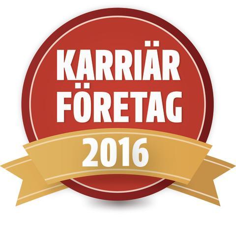 Reitan Convenience Sweden utses till Karriärföretag 2016