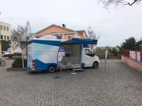 Beratungsmobil der Unabhängigen Patientenberatung kommt am 14. September nach Riesa.