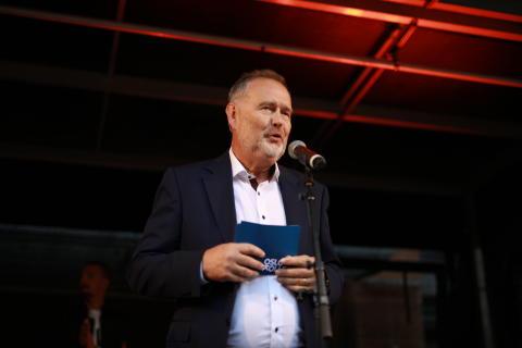Skjalg Havåg, administrerende direktør av OsloKollega, som eier og driver PS:Hotel by Nordic Choice.